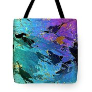 Sea Ice Core One Millimeter Thick Tote Bag