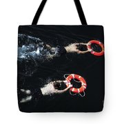 Search And Rescue Swimmers Tote Bag
