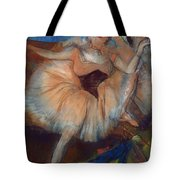 Seated Dancer Tote Bag by Edgar Degas