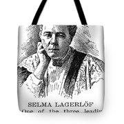 Selma Lagerlof (1858-1940) Tote Bag