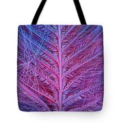 Sem Of Eastern Bluebird Feathers Tote Bag
