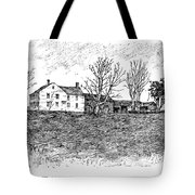Shays Rebellion, 1787 Tote Bag