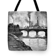 Sheffield, England, 1884 Tote Bag