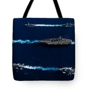 Ships From The John C. Stennis Carrier Tote Bag