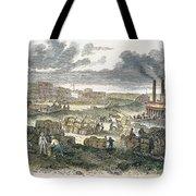 Shreveport Levee, 1872 Tote Bag