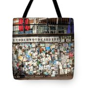 Shrine To Ianto Tote Bag