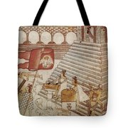 Siege Of Tenochtitlan 1521 Tote Bag