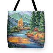 Sierra Creek Tote Bag