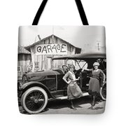 Silent Film: Automobiles Tote Bag