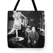 Silent Film Still: Dancing Tote Bag
