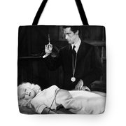 Silent Film Still: Doctor Tote Bag