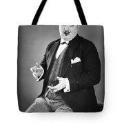Silent Still: Single Man Tote Bag
