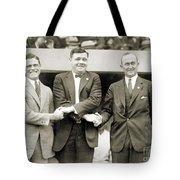 Sisler, Ruth & Cobb, 1924 Tote Bag