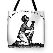 Slavery: Woman, 1832 Tote Bag