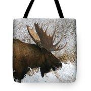 Snow Bull Tote Bag
