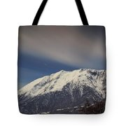 Snow-capped Alps Tote Bag