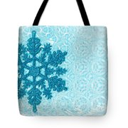 Snow Flake Tote Bag