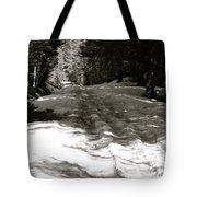 Snow In April Tote Bag