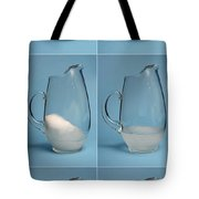 Snow Melting Tote Bag