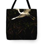 Snowy Egret, Florida Tote Bag