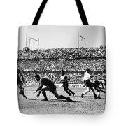 Soccer Match, 1930s Tote Bag