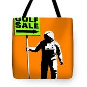 Space Golf Sale Tote Bag