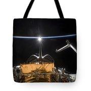 Space Shuttle Atlantis Payload Bay Tote Bag