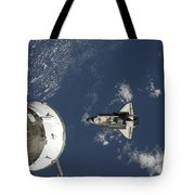 Space Shuttle Endeavour, A Russian Tote Bag
