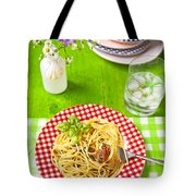 Spaghetti Al Pesto Tote Bag