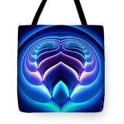Spiral-3 Tote Bag by Klara Acel