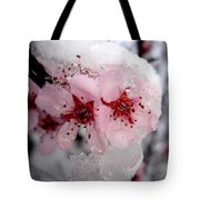 Spring Blossom Icicle Tote Bag