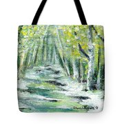 Spring Tote Bag by Shana Rowe Jackson