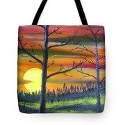 Spring Sunrise Tote Bag
