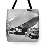 Spruce Goose Hull On The Move Tote Bag