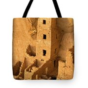 Square Tower Evening Tote Bag