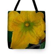 Squash Blossom Tote Bag