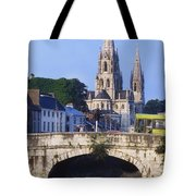 St. Finbarres Cathedral, Cork, Co Cork Tote Bag