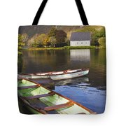 St. Finbarres Oratory And Rowing Boats Tote Bag