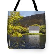 St. Finbarres Oratory On Shore Tote Bag by Ken Welsh