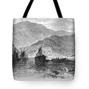 St. Thomas: Hurricane, 1867 Tote Bag
