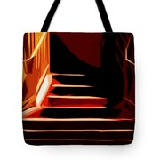 Stairs At Palace Avenue Tote Bag