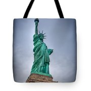 Staute Of Liberty Tote Bag