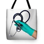 Stethoscope Tote Bag