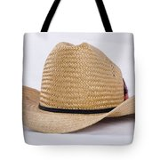Straw Weave Cowboy Hat Tote Bag