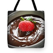 Strawberry Dipped In Chocolate Tote Bag