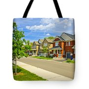 Suburban Homes Tote Bag