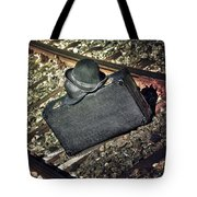 Suitcase And Hats Tote Bag