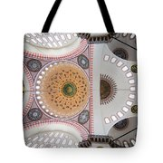 Suleymaniye Mosque Ceiling Tote Bag