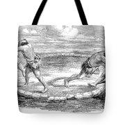 Sumo Wrestling, 1853 Tote Bag