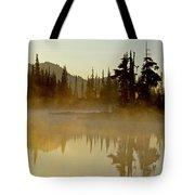 Sunlight On An Alpine Lake Tote Bag